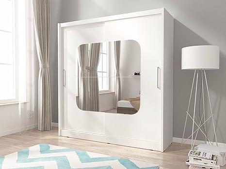Camera Da Letto Legno Chiaro : Maya centered specchio ante armadio per camera da letto