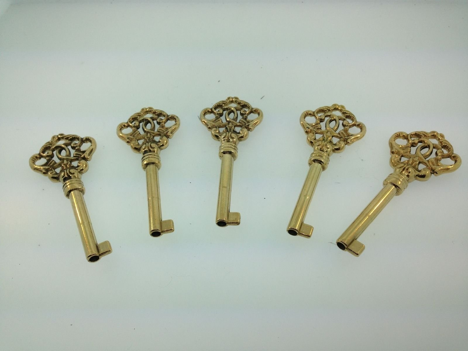 Grandfather Clock Door Key set of 5 for Howard Miller Floor Clock and others