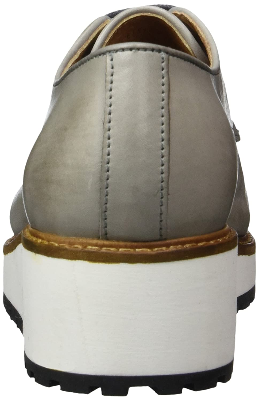 Bianco Derby Damen Dress Laced up 25-49297 Derby Bianco Grau (Grau) 10a88f