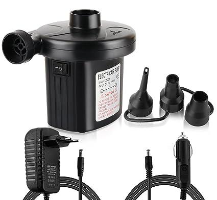 Hinchador eléctrico ilauke, 12 V de corriente continua, 230 V de corriente alterna,
