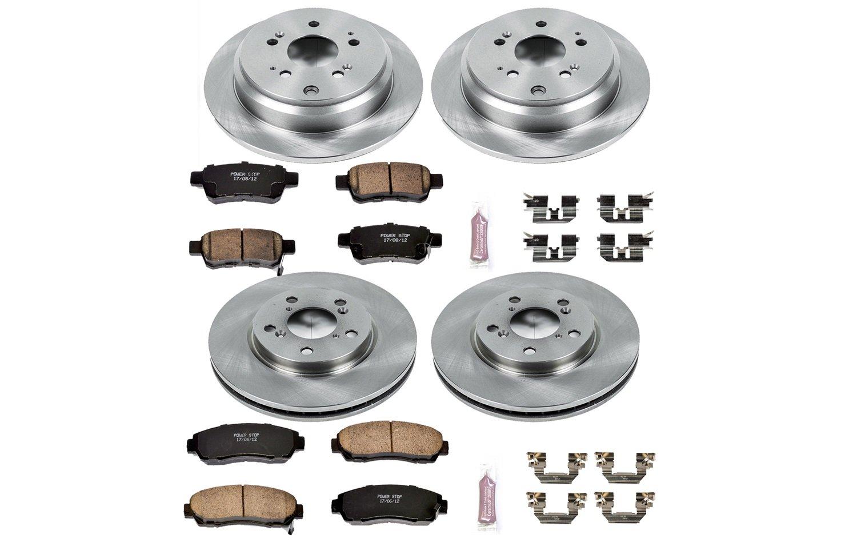 Amazon.com: Autospecialty (KOE4044) 1-Click OE Replacement Brake Kit:  Automotive
