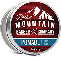 Pomade for Men – 5 oz Tub Classic Styling Product with Strong Firm Hold for Side Part, Pompadour & Slick Back Looks –...
