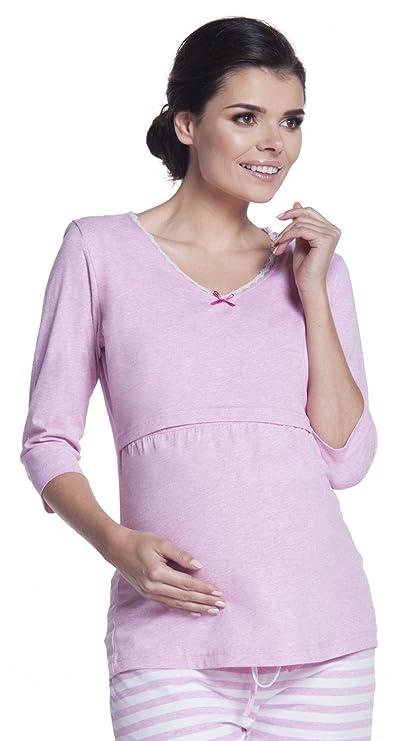 Premamá pijama de lactancia estampado