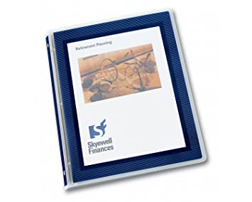 amazon com avery flexi view 5 inch binder navy blue 1 binder