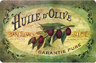 product image for Apache Mills 60-122-0149-18x30 30 Cushion Comfort Vintage Olive Oil Kitchen Mat, 18-Inch X, Multi