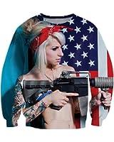 CHIC Women Men Funny Carlton Hoodies Sweatshirt 3D Clothing T Shirt