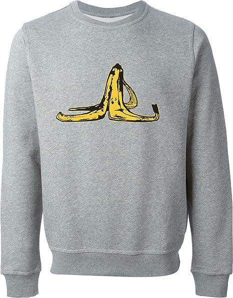Banana Slip Gray Sweater (XL)