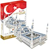 3D Puzzle Sultan Ahmet Mosquée Bleue d'Istanbul en Turquie Blue Mosque Blaue Moschee Istanbul Cubic Fun
