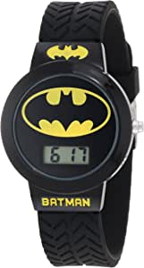 Batman Kids' BAT5041 Batman Watch with Black Rubber Band