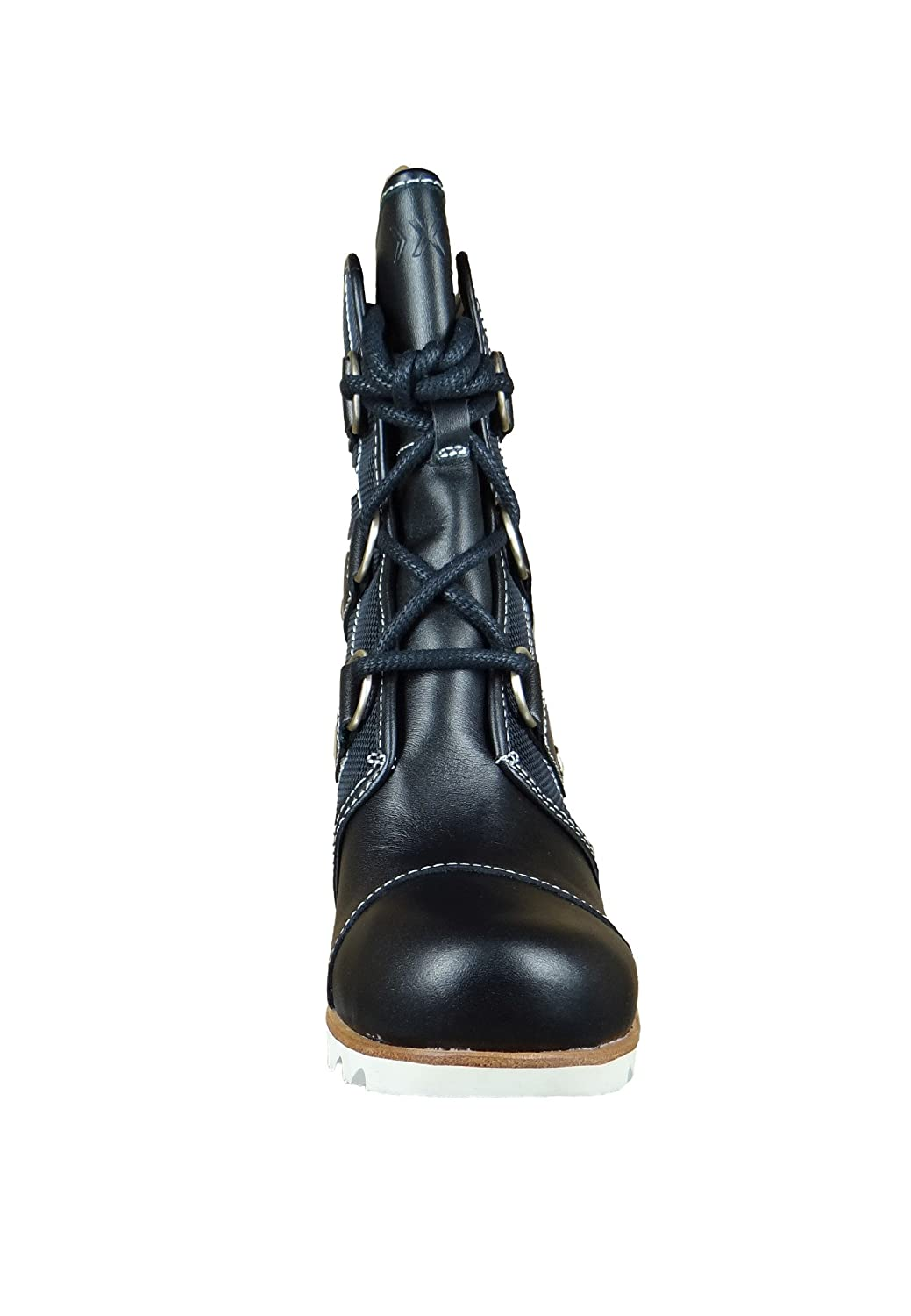 86076f536571 Sorel Women s Joan of Arctic Wedge Mid x Celebration Black Natural 5.5 B  US  Amazon.ca  Shoes   Handbags