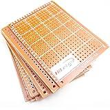HiLetgo 10PCS 5x7cm ベークライト DIYプロトタイプボード PCBユニバーサルブレッドボード 高品質 [並行輸入品]