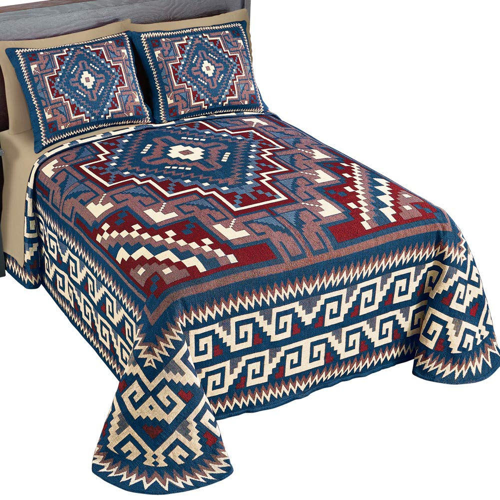 Lofton Southwest寝具ベッドスプレッド クイーン 39836 MLTI QUEN B075H7KR8D マルチカラー クイーン