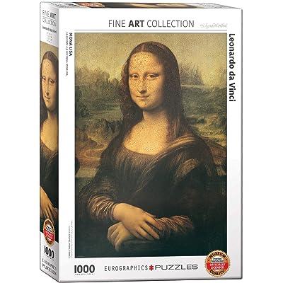 EuroGraphics Mona Lisa by Leonardo Da Vinci 1000 Piece Puzzle: Toys & Games [5Bkhe1201642]