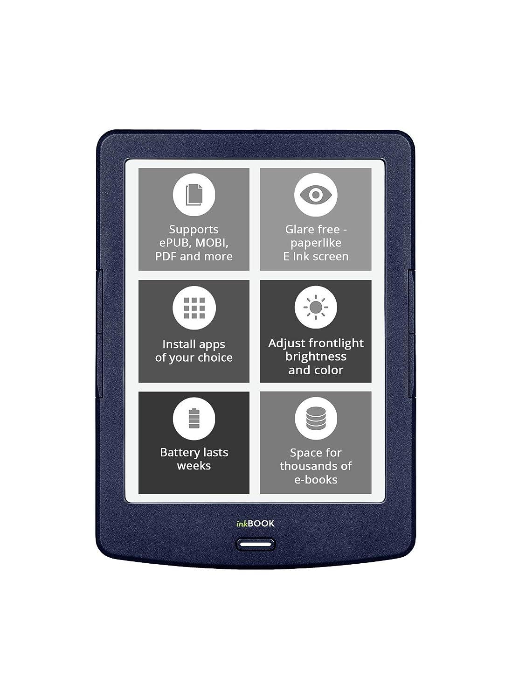 inkBOOK Lumos - E-reader con pantalla de 6