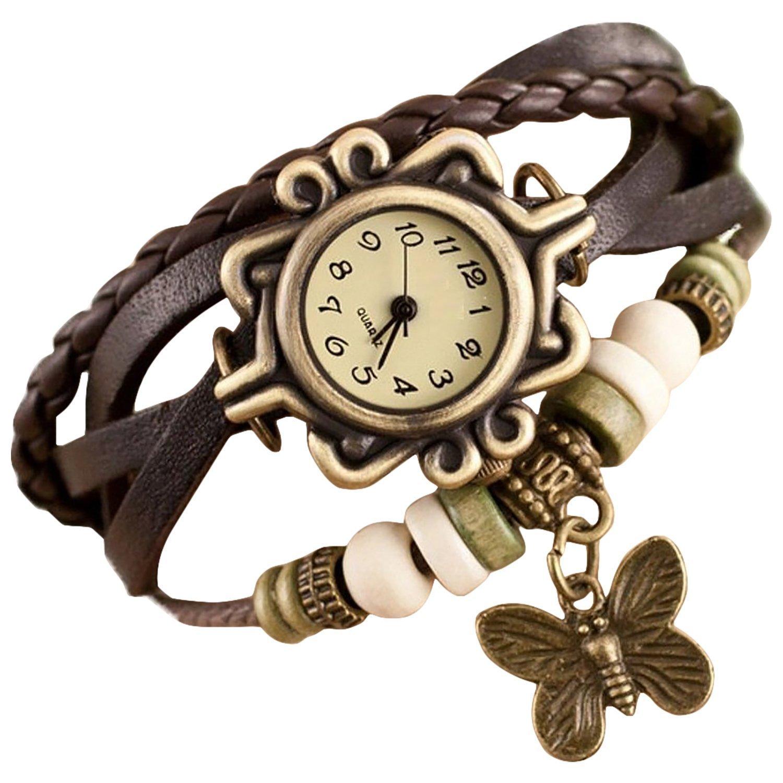 V-Luma Bracelet Analog Watch - For Women, Girls Brown: Amazon.in ...