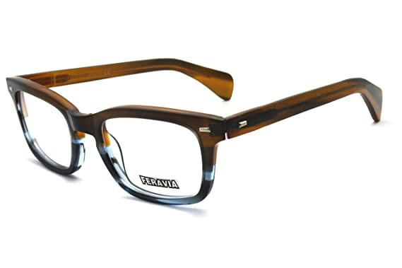 c7b84f3c8b Men Eyeglasses Strong Look Bold Rectangular Clear Lens Two Toned Acetate  Frame