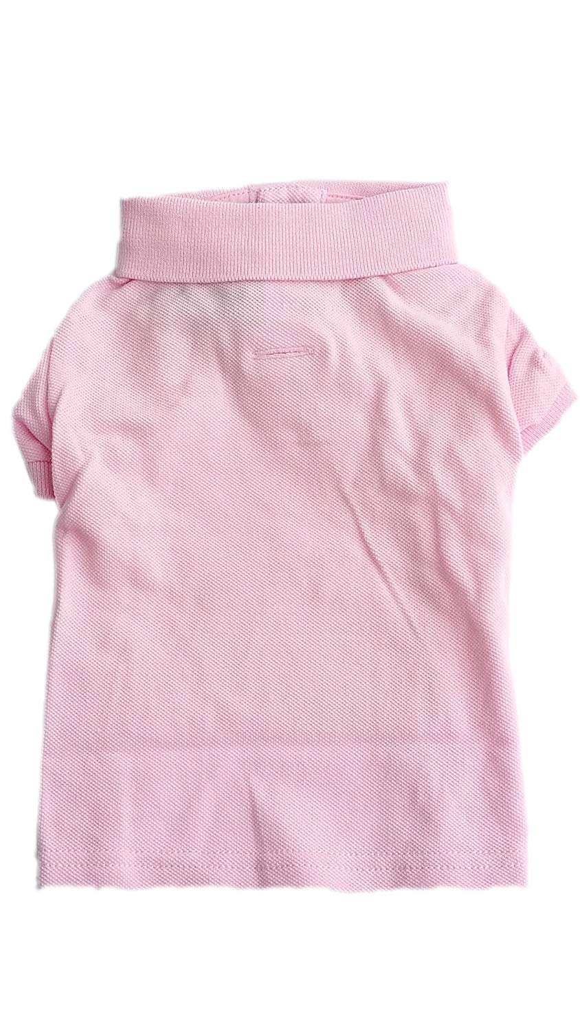 9e39cf303 Amazon.com   Ralph Lauren Dog Puppy Pet Polo Shirt Designer Clothing Blue  Pink Size S M L £45 (Small   Pet Supplies