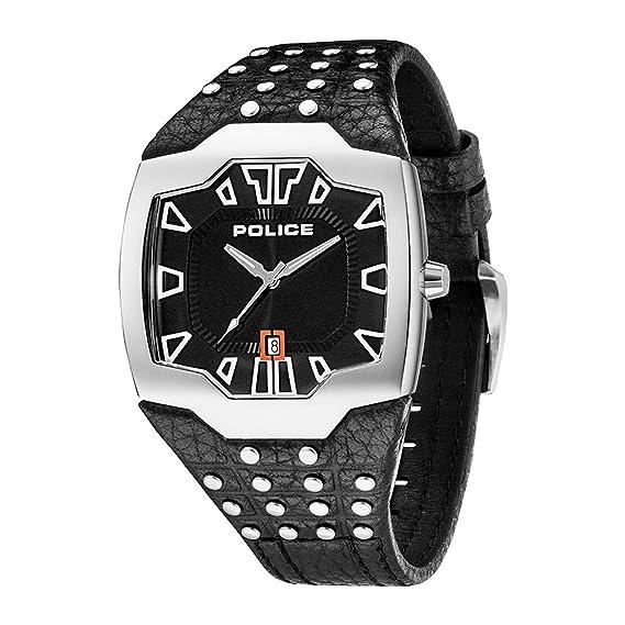 Police PL.13634JS-02 - Reloj analógico de cuarzo para hombre, correa de