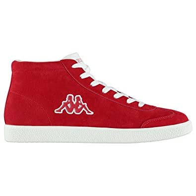size 40 40b5f cb7bf Amazon.com | Kappa Mens Sole Mid Trainers Low Lace up Suede ...