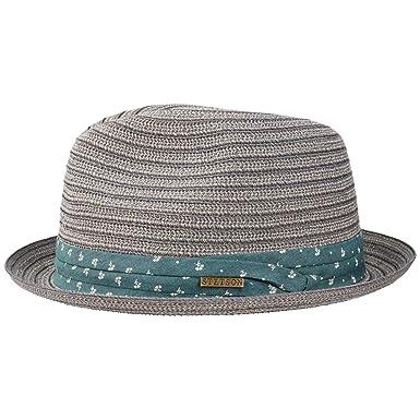 Stetson Stripe Braid Player Hat Cloth Sun Beach (XL (60-61 cm ... 26cd77399a3e