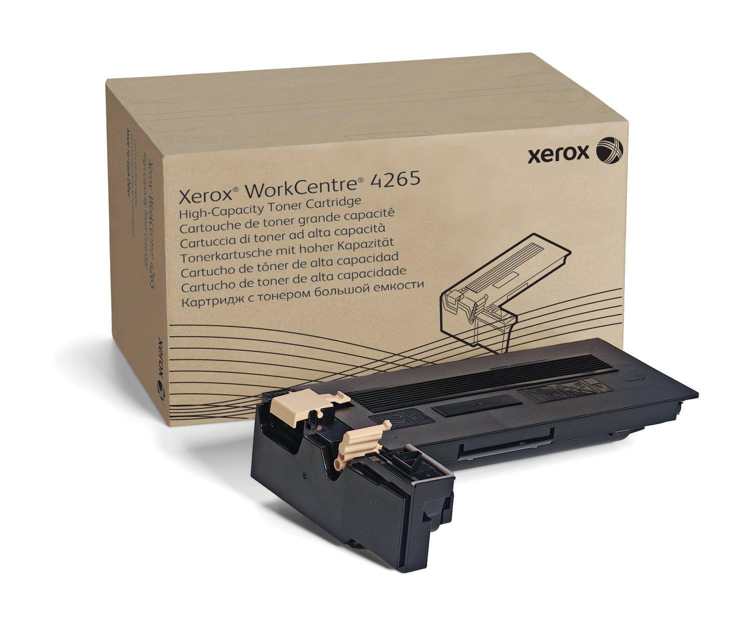 Toner Original XEROX Alta Capacidad Black para the WorkCentre 4265 106R02734