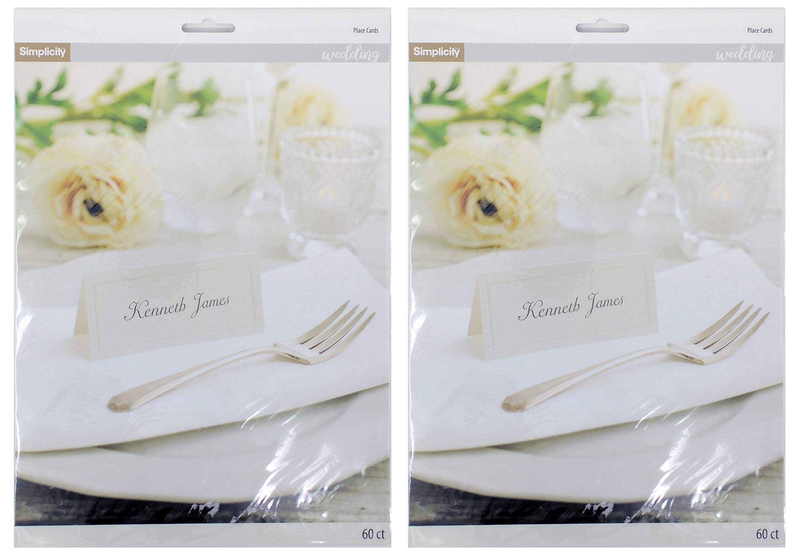 Wilton Ivory Place Cards - 2 Packs