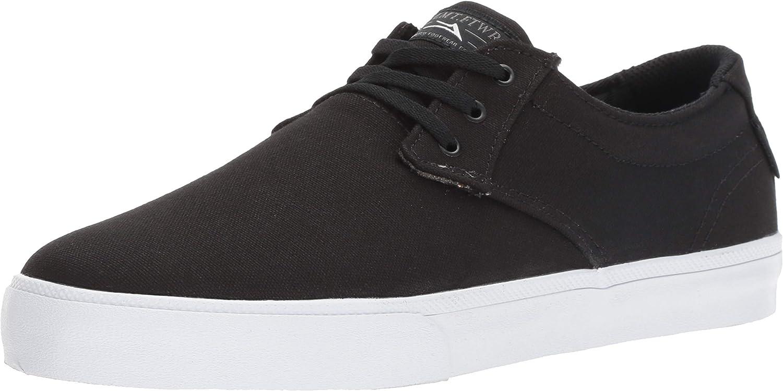 Lakai Skateboard Shoes Daly Black Textile Gum
