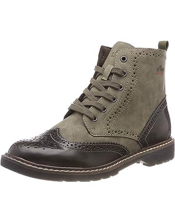 Original Vintage S Oliver Siefel Boots leicht schimmernd in