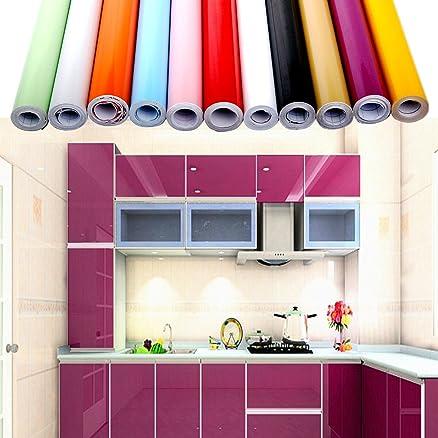 Carta adesiva 60 x 500 cm per Mobili Cucina adesivo porpora Carta ...