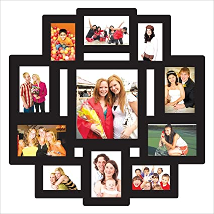 buy trendzy wooden 11 in 1 collage wall hanging photo frame online