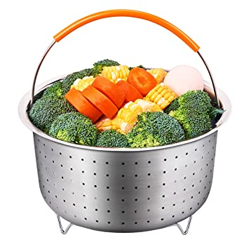 Review Steamer Basket for 6