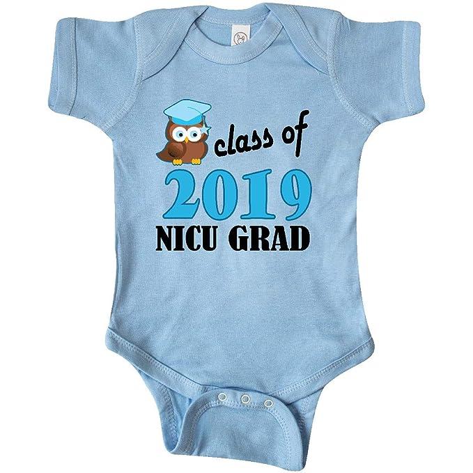 Amazon.com: inktastic NICU Grad 2018 Baby Boy búho Infant ...