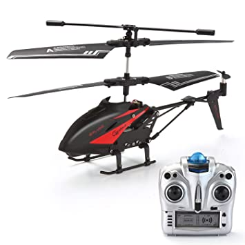 RC Helicopter, Remote Control Helicopter with Gyro and LED Light  3 5-Channel Mini Helicopter Toy with Remote Control Indoor for Kids and  Adults