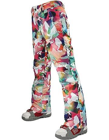 9a053db19cf05 APTRO Women s High-Tech Insulated Snow Pants Windproof Waterproof  Breathable Ski Pants