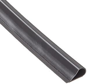 "Pemko SiliconSeal Adhesive-Backed Fire/Smoke Gasketing, Dark Brown Silicone, 0.5"" W x 0.25"" H x 18' L"