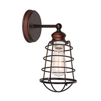 Design House 519710 Ajax 1 Light Wall Bronze