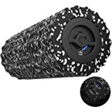 FITINDEX Electric Foam Roller 4 - Speed Vibrating Yoga Massage Muscle Roller, Deep Tissue Trigger Point Sports Massage Therapy, High-Intensity Massager Roller with Rechargeable Function - Black