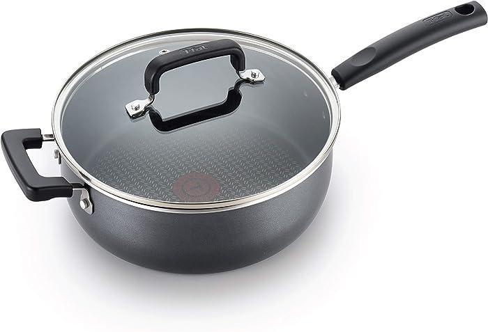 T-fal Signature Jumbo Cooker, 4.2 Quart, Grey