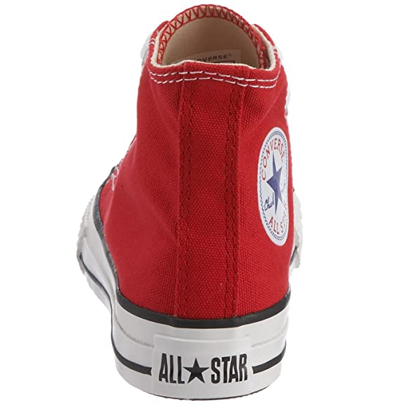 0bb1e6ab9f70 Converse Unisex Kids  Youths Chuck Taylor All Star Hi Trainers   Amazon.co.uk  Shoes   Bags
