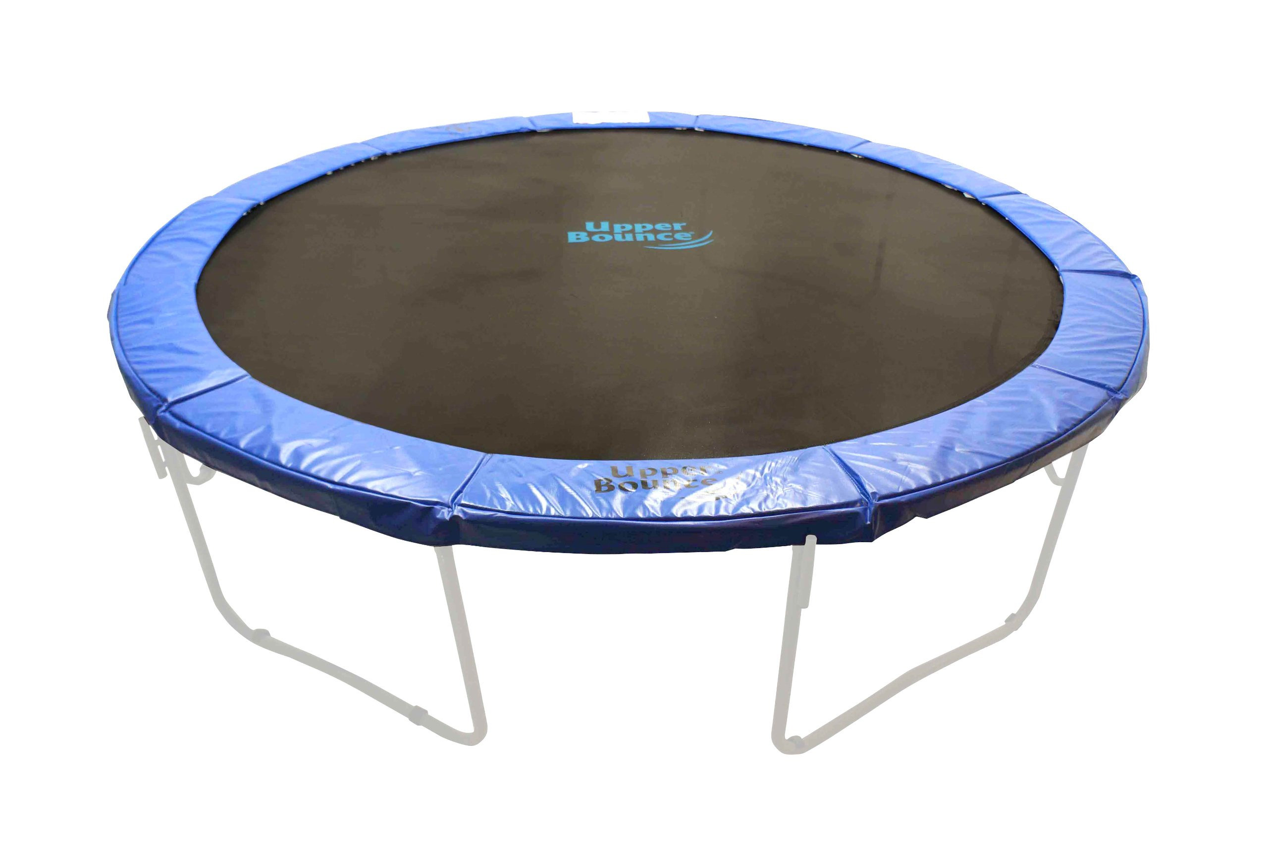 Upper Bounce 12' Premium Trampoline Safety Pad (Spring Cover) Fits for 12 FT. Round Trampoline Frames. 10'' Wide - Blue by Upper Bounce