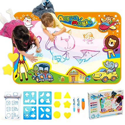 Amazon Com Papa Mom Aqua Magic Mat Aqua Doodle Mat Kids Painting