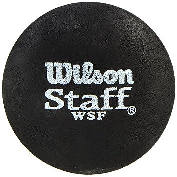 Wilson Staff Pelota de Squash, 2 Unidades, Unisex, Azul Negro ...