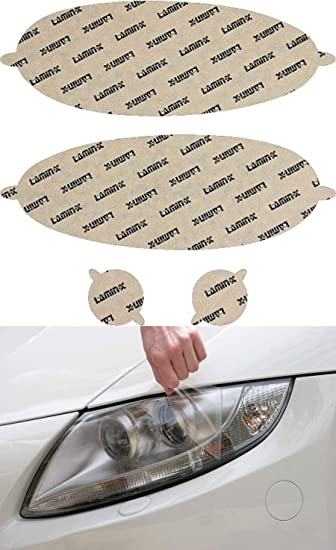 Automotive Lamin-x MB007CL Headlight Cover Headlight Parts ...