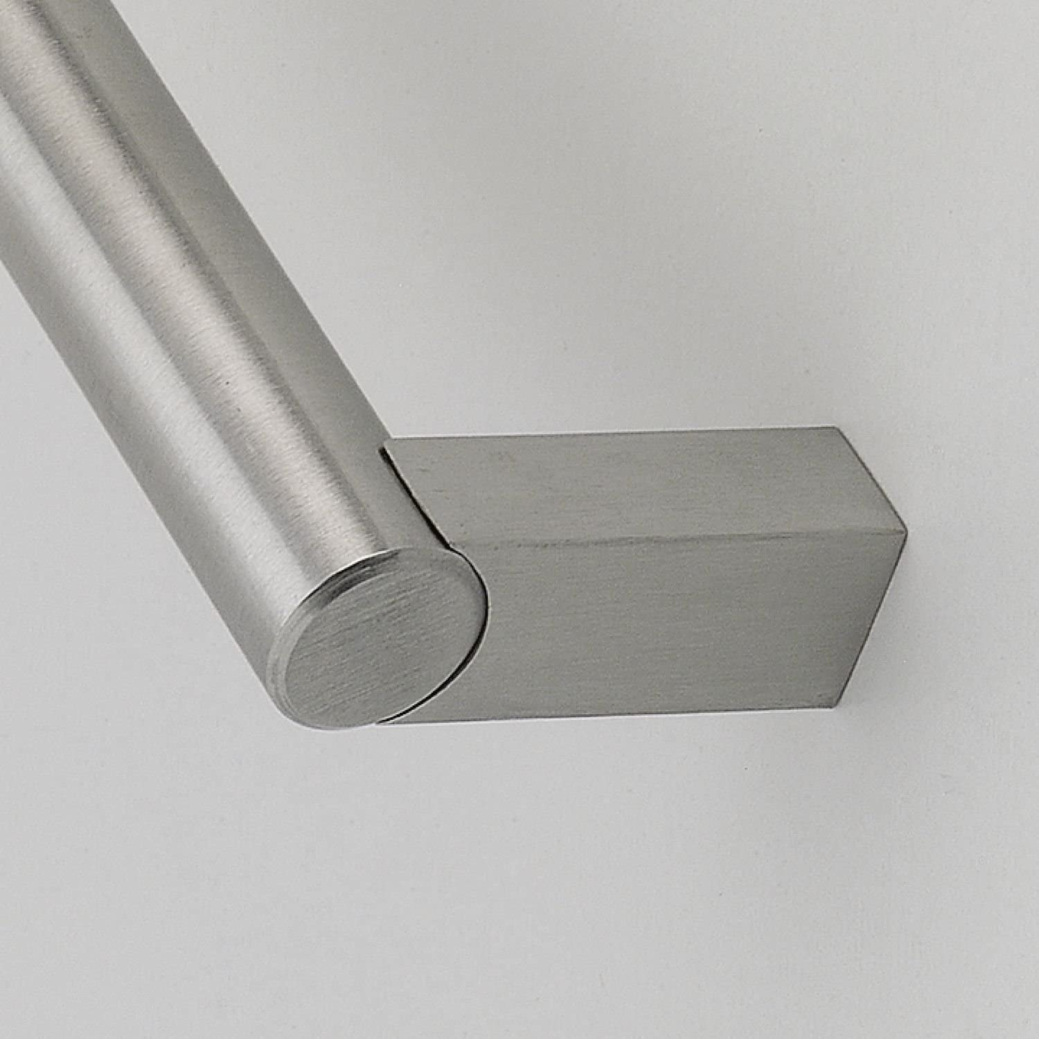 Siro Matar Diameter 14/mm Hole Distance 192/mm Width 204/mm 1472/204/N1 Stainless Steel Brushed