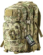 Kombat   Unisex Outdoor Molle Assault Pack Backpack