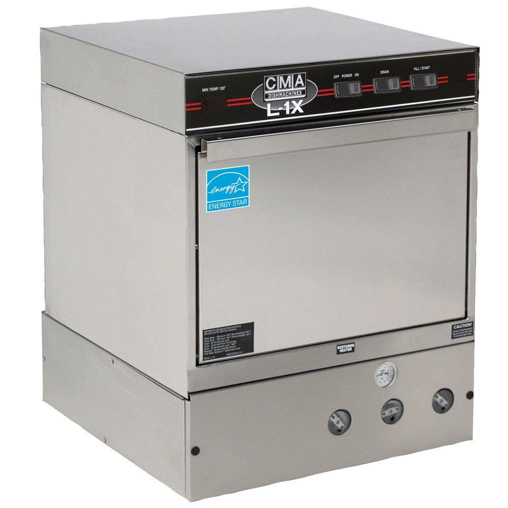 CMA L-1X Undercounter Dishwasher Low Temperature 30 Rack/HR