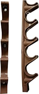 HTTH Adjustment Brackets for Chaise Lounge (Brown)