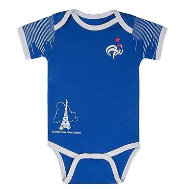 e4699fd376c Amazon.com: Postobon France Soccer Jersey Baby Bodysuit Onesies ...