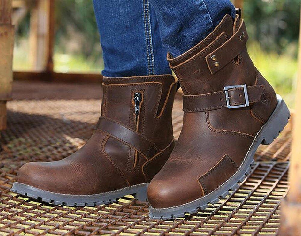 Lemontree Herren Winter Leder 232 Boots 232 Leder Braun a13d0f