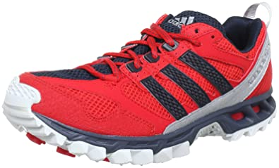 best website aac06 5638d adidas Kanadia 5 Trail Shoes – Man red Size  14.5 UK